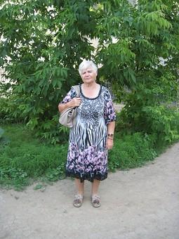 Работа с названием Летнее платье для мамы
