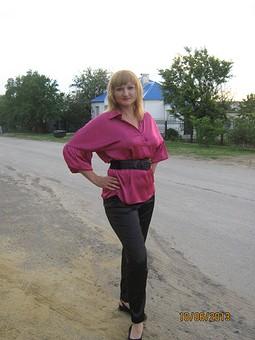 Работа с названием Моя первая блузка
