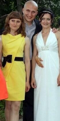 Желтое платье от Лисёк