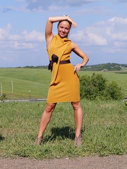 Работа с названием Удивительное платье