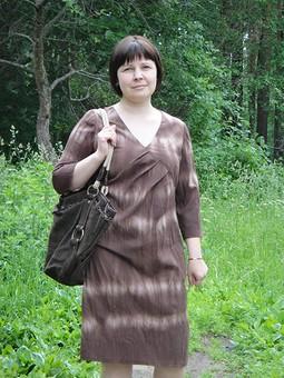 Работа с названием Платье Burda 4/2010 мод.109
