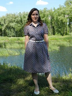 Работа с названием Просто лето,просто платье!