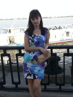 Работа с названием Летне-летнее платье