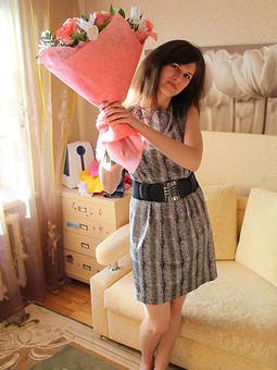 Работа с названием Еще одно платье для обширной коллекции Сайта!!!