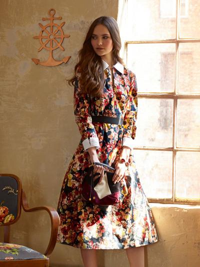 Тренды лета: платья сцветочным принтом