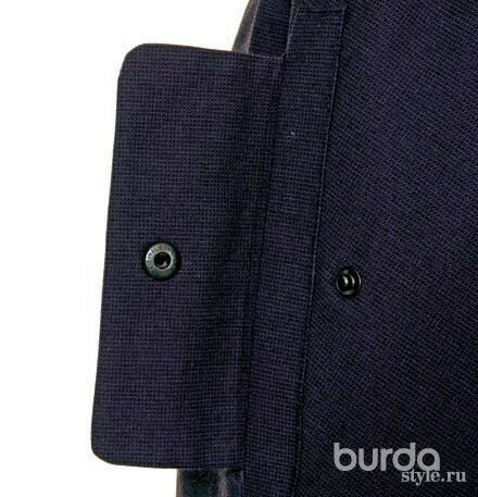 Боковой карман склапаном