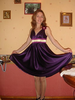 Работа с названием Платье для танго