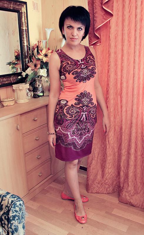 Случайное платье