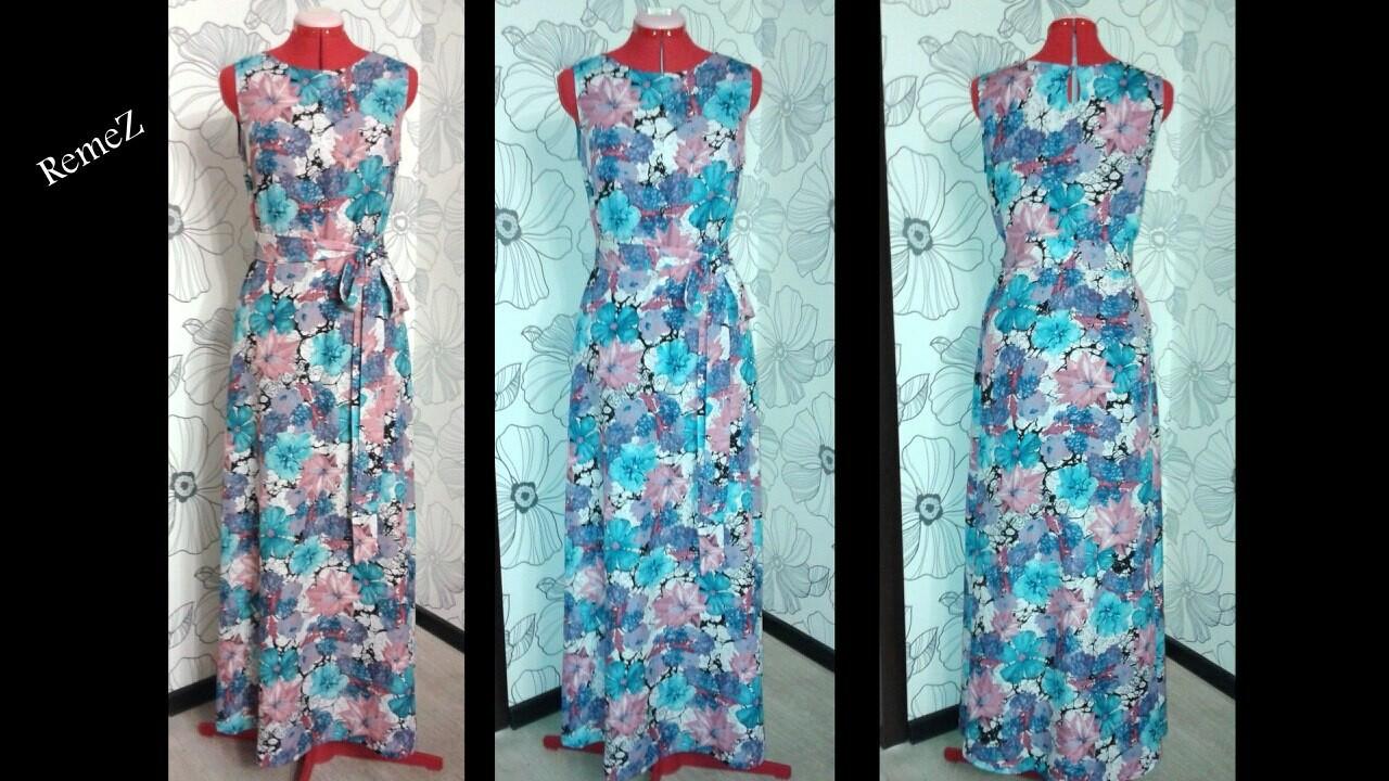 Платье изиндийского шелка