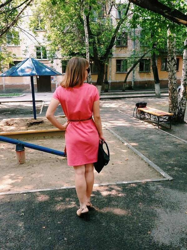 Яркий розовый от Ромашечка
