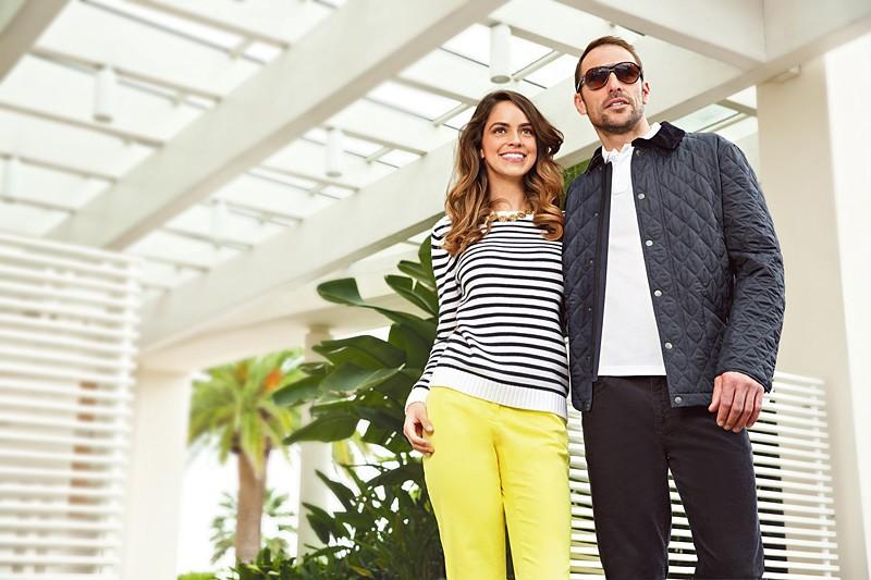 Модные тенденции лета 2015: одежда вполоску