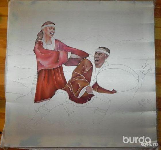 Танцы втехнике батик