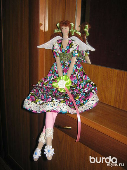 Как создают куклы Тильда