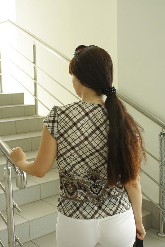 блуза изПавлопосадского платка