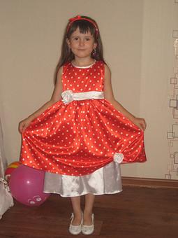 Работа с названием Платье дочке на день рождения