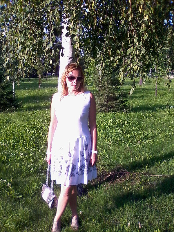 Любимое непрактичное платье. от Ольга2510