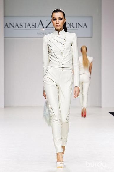 Самый модный фасон брючного костюма 2013/2014