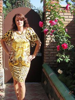 Работа с названием Мое первое платье