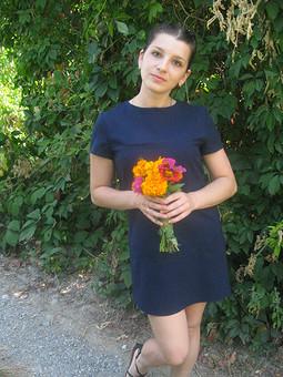 Работа с названием Прогулочное платье
