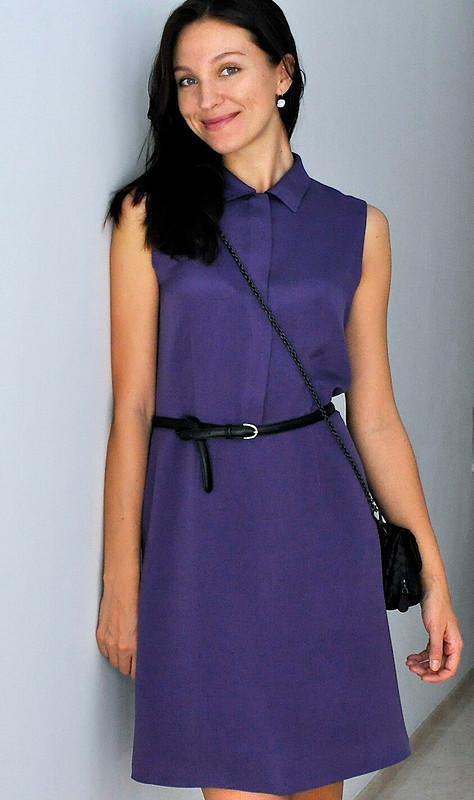 Шелковое платье от Nadia