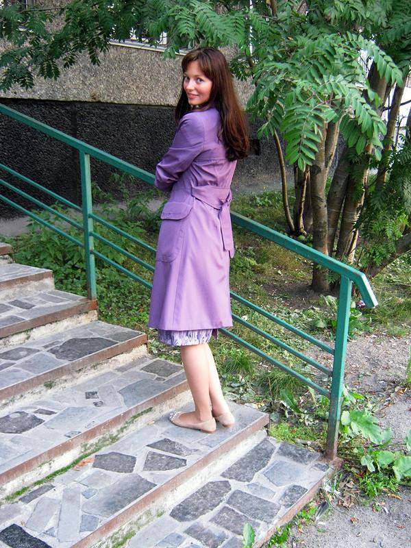 Плащ иплатье от Алина Рыбина