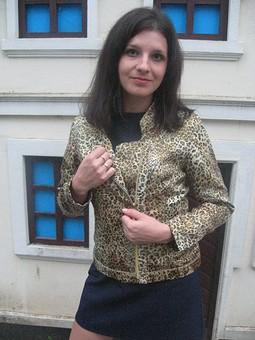 Работа с названием Леопардовый жакет