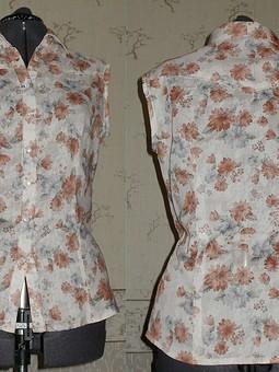 Работа с названием блузка из батиста