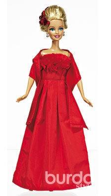 Гламурное платье дляБарби
