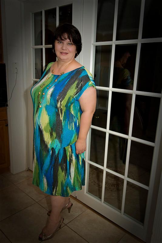 Платье «Аватар» (Правая сторона)
