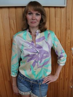 Работа с названием Блузка-рубашка