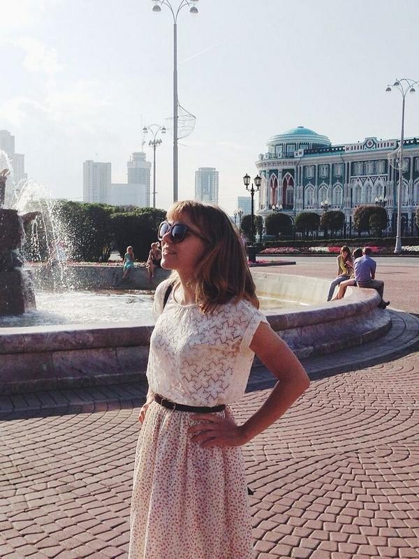 Воздушная юбка от Ромашечка