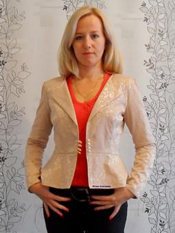 Работа с названием Жакетик из блузки