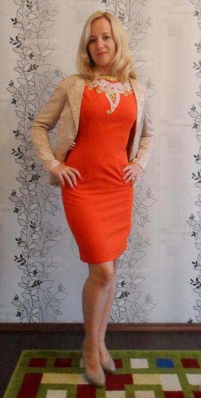 Платье от Юлия Алексашка