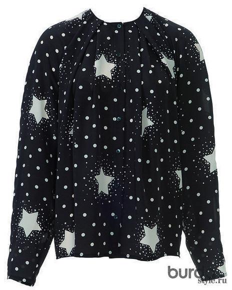 Блуза со «звездами»