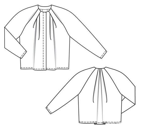 Блуза со