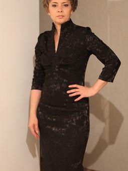 Работа с названием Платье Шарман