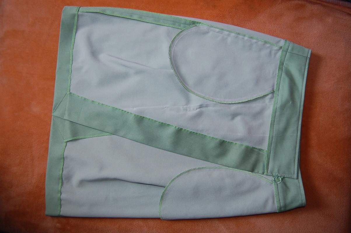 Осенний микс, или Джинсовая юбка