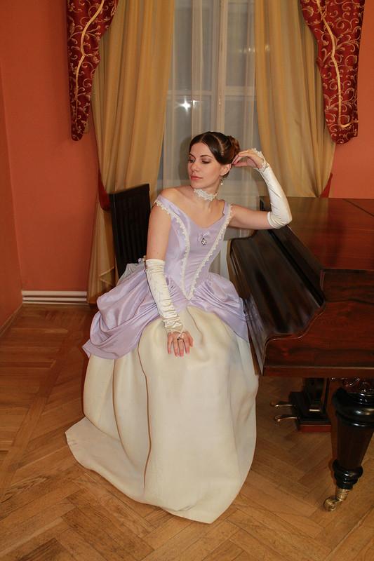 бальное платье стурнюром