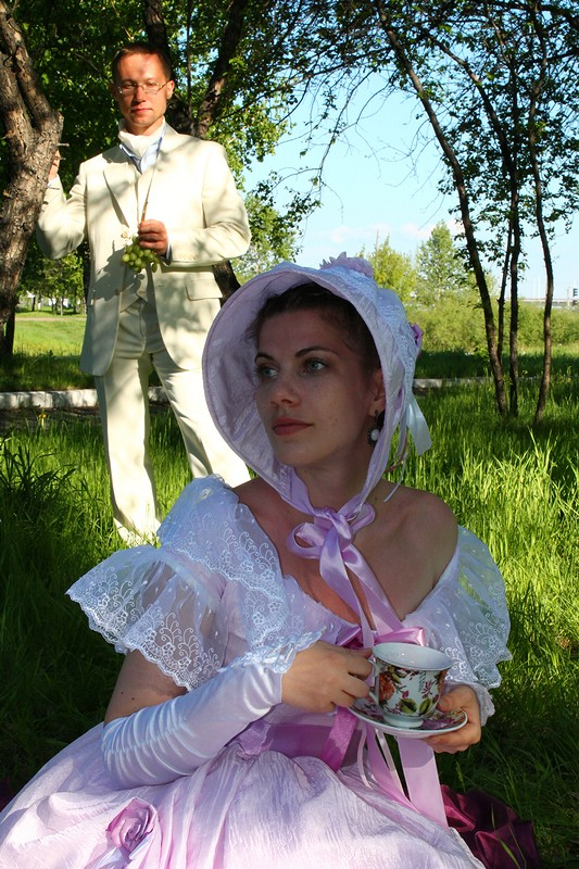 платье длявинтажного пикника
