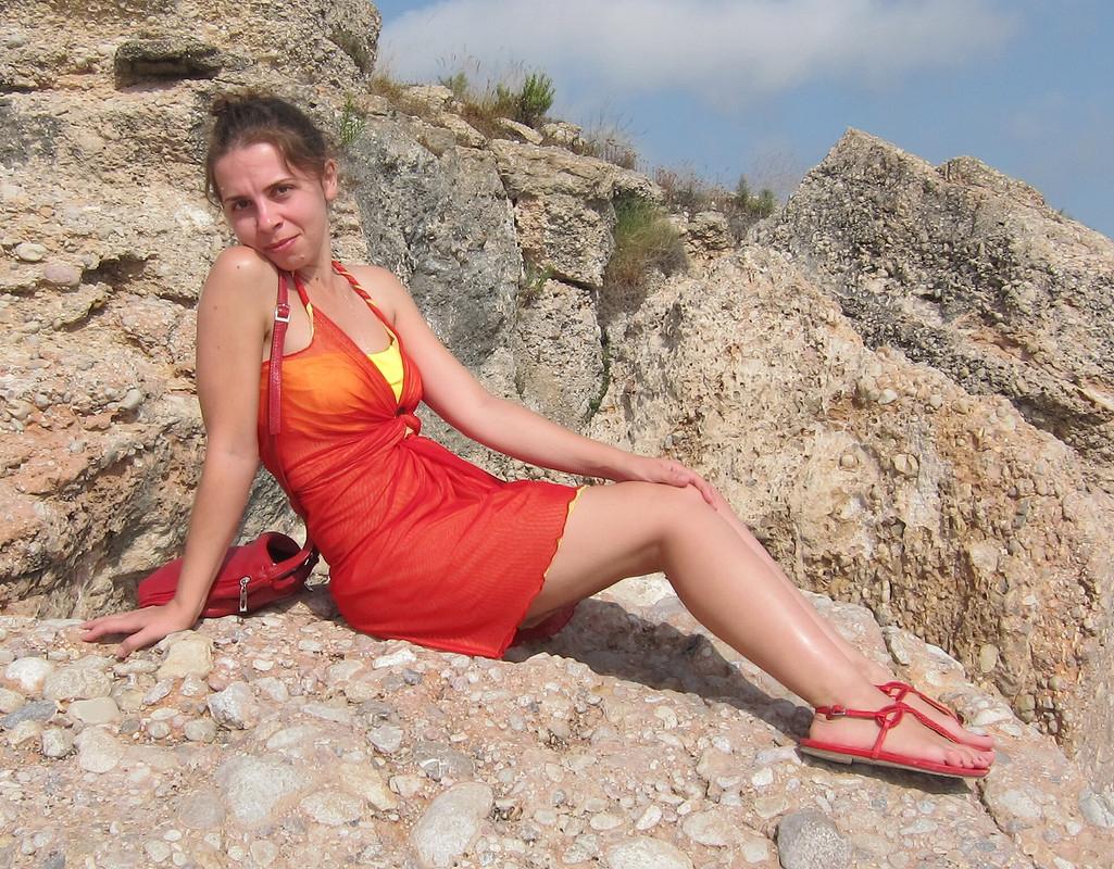 Простейшее пляжное платье