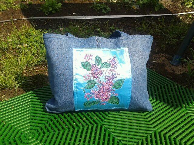 Летняя сумка «Сирень» от Afina477