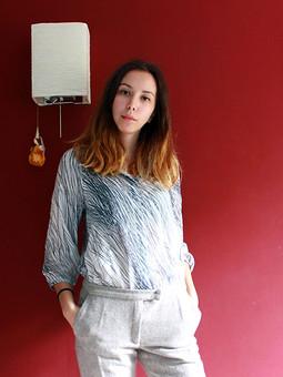 Работа с названием Блуза
