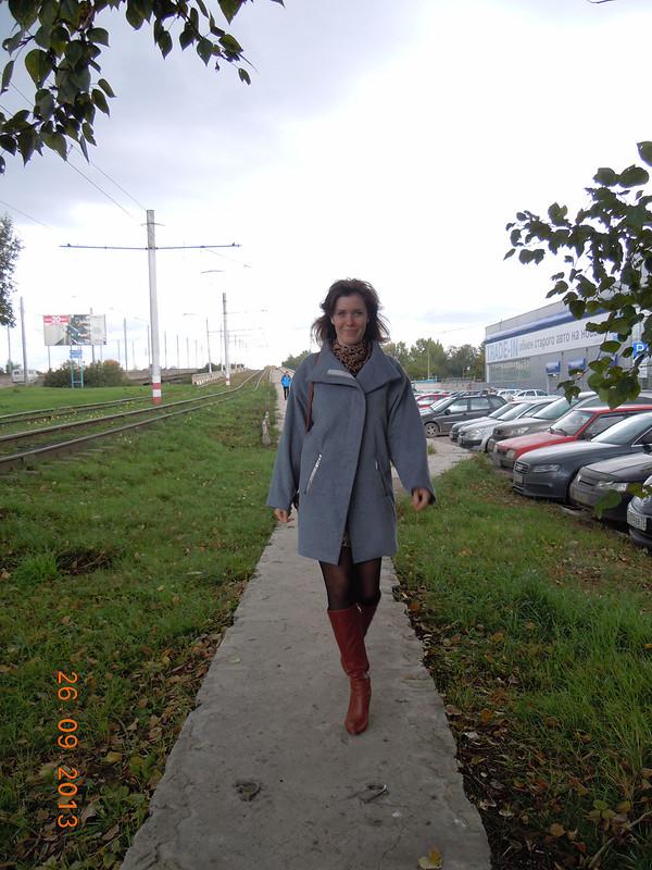 Первое пальто от Саша А