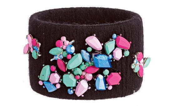 Крупноформатные браслеты своими руками
