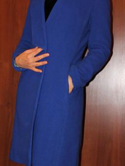 Работа с названием Ультра-такое-мариновое пальто