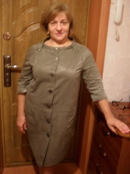 Работа с названием платье или пальто?Возможны оба варианта.