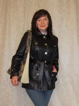 Работа с названием Жакет-куртка.