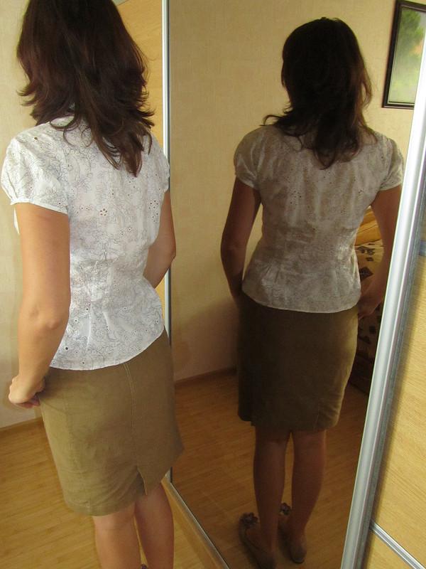 Блуза изнабивного батиста от 80natalik