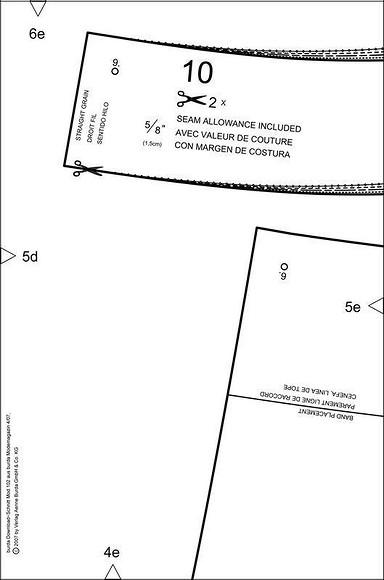 Жакет безподкладки – бесплатная выкройка