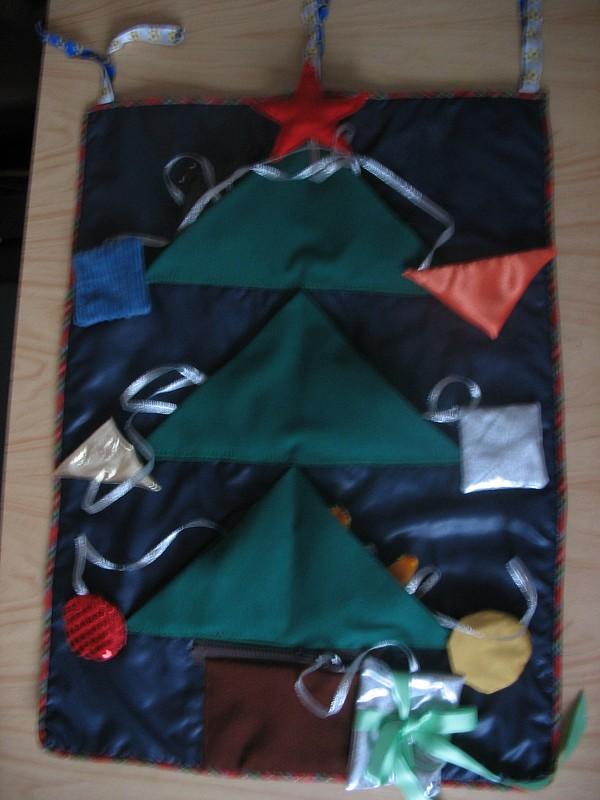 Развивающий коврик «Новогодний»